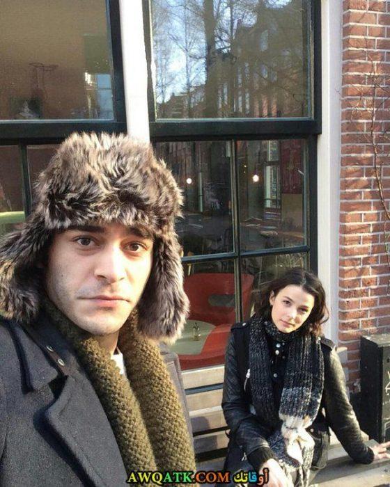 أحلى و أجدد صورة الفنان بوراك دينيز وحبيبته