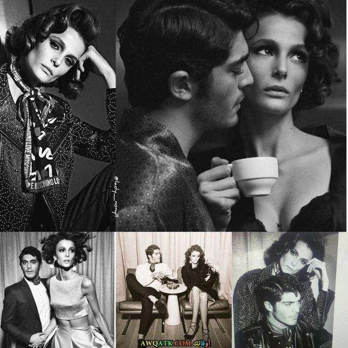أحدث و أجمل صورة الفنان بوراك دينيز مع حبيبته