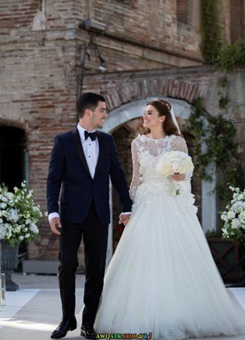 صورة من حفل زفاف ازجي أيوب أوغلو