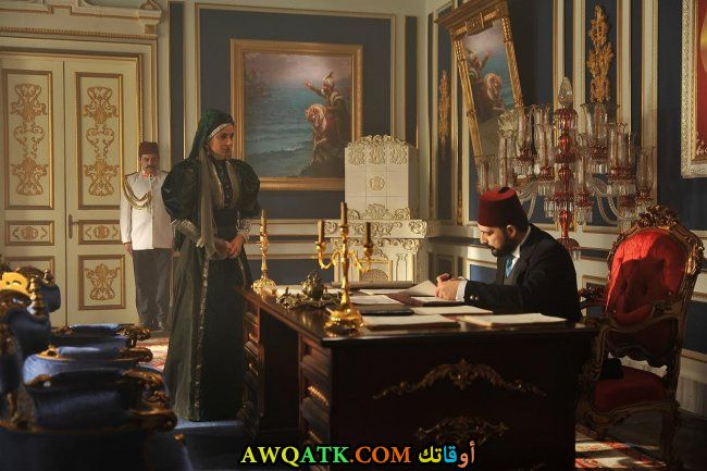 صورة الفنان بولنت إينال 2017 من مسلسل السلطان عبد الحميد الثاني