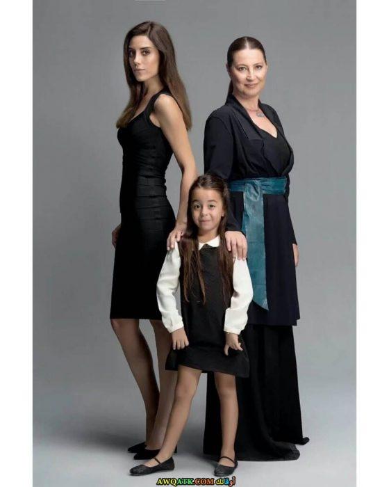 بوستر جديد من مسلسل أمي الفنانة التركية جانسو ديري
