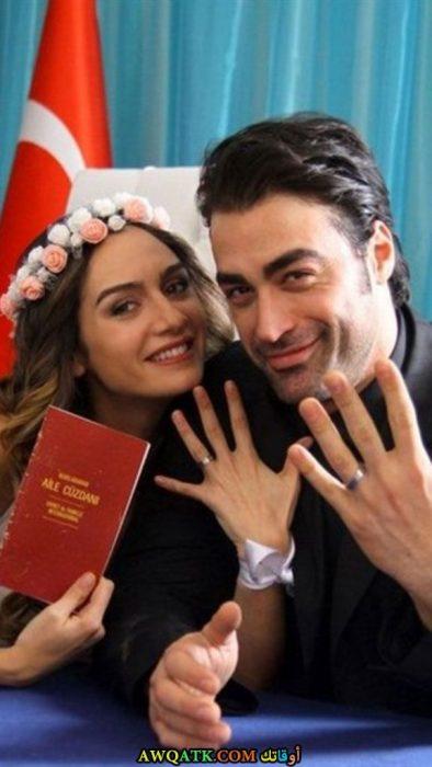سارب ليفانت اوغلو وبرجي أكالاي زوجته