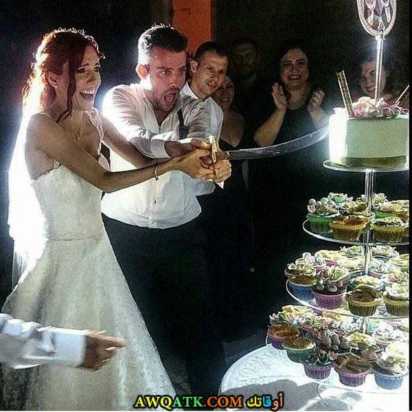 صورة من حفل زفاف الفنان صالح بادمجي