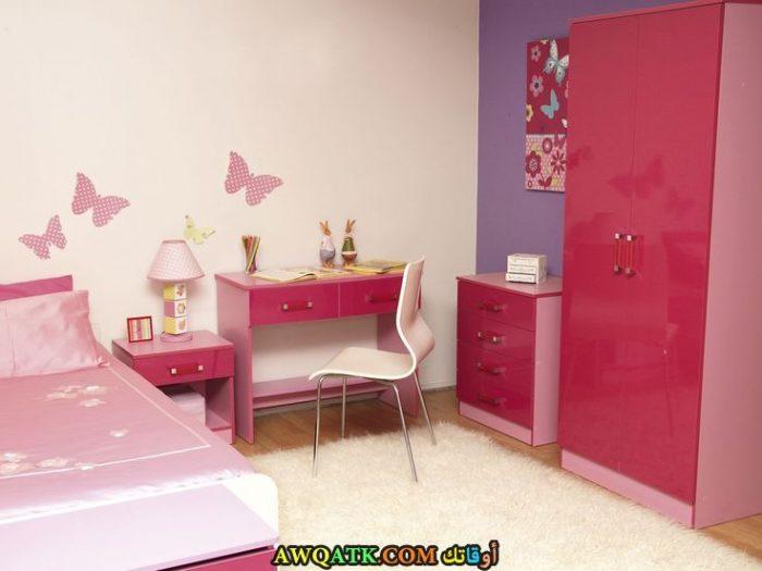 غرفة نوم أطفال بينك جميلة جداً