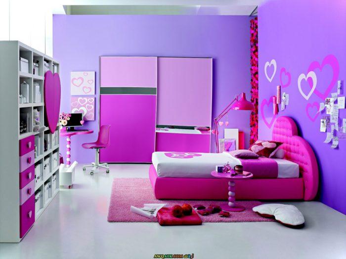 غرفة نوم أطفال بناتي جميلة جداً