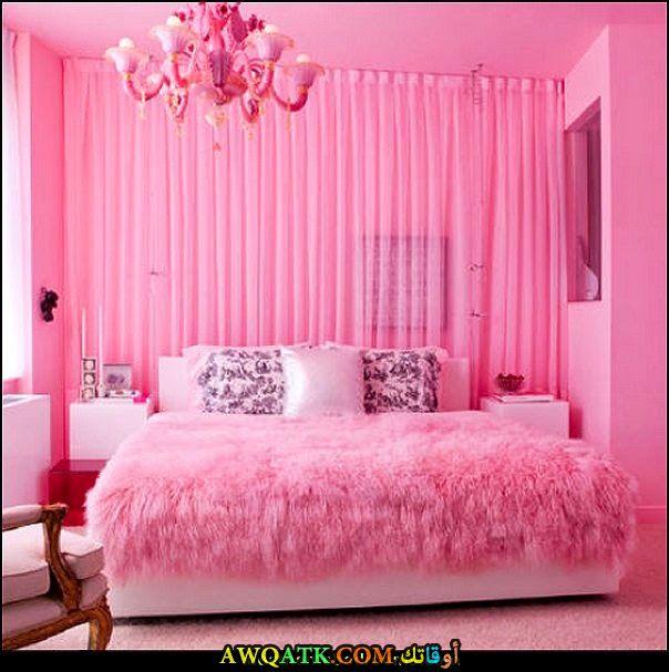 غرفة نوم رائعة 2017 باللون البينك