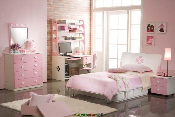 غرفة نوم جميلة جداً بينك تناسب مختلف الأذواق