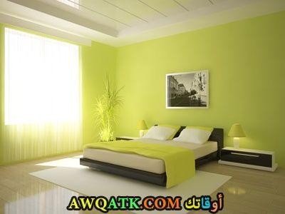 غرفة نوم مودرن بسيطة جداً