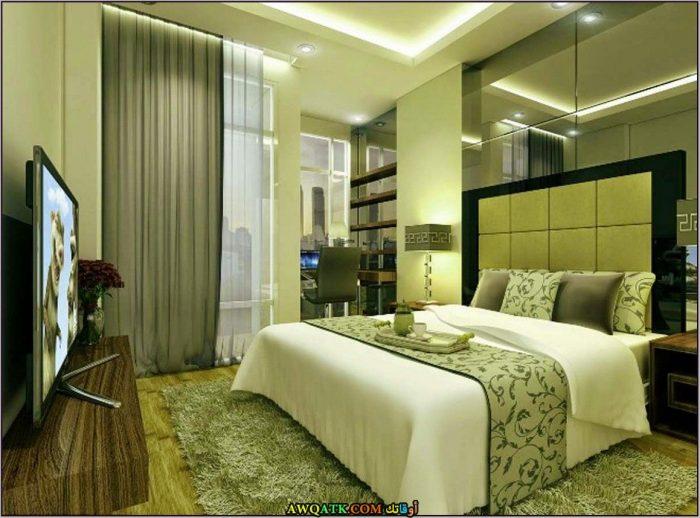 غرفة نوم جميلة جداً تناسب مختلف الأذواق