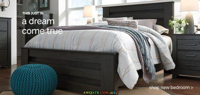 غرفة نوم فخمة وعصرية لأصحاب الذوق الراقي