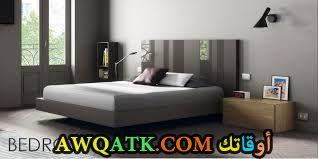 غرفة نوم هادئة جداً وجميلة