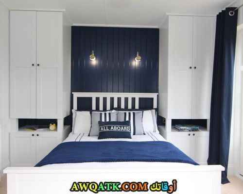 غرفة نوم مودرن لأصحاب الذوق الهادي