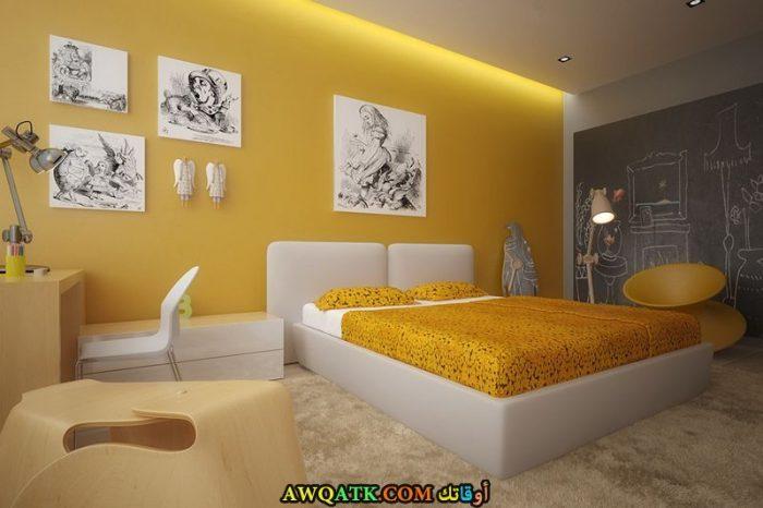 غرفة نوم هادئة لأصحاب الذوق الراقي