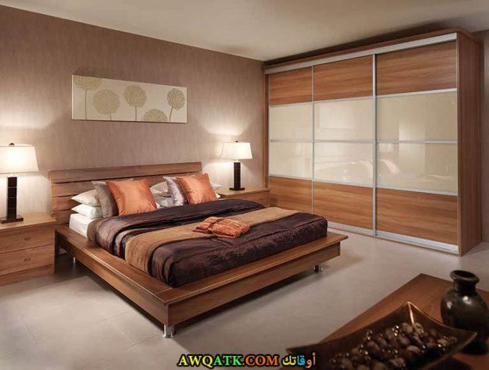 غرف نوم جميلة جداً باللون البيج