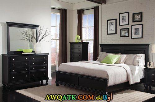 غرفة نوم كاملة جميلة جداً وشيك