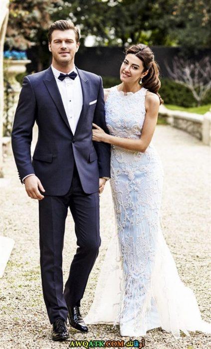 صورة من حفل زفاف كيفانش تاتليتوغ و باشاك ديزر