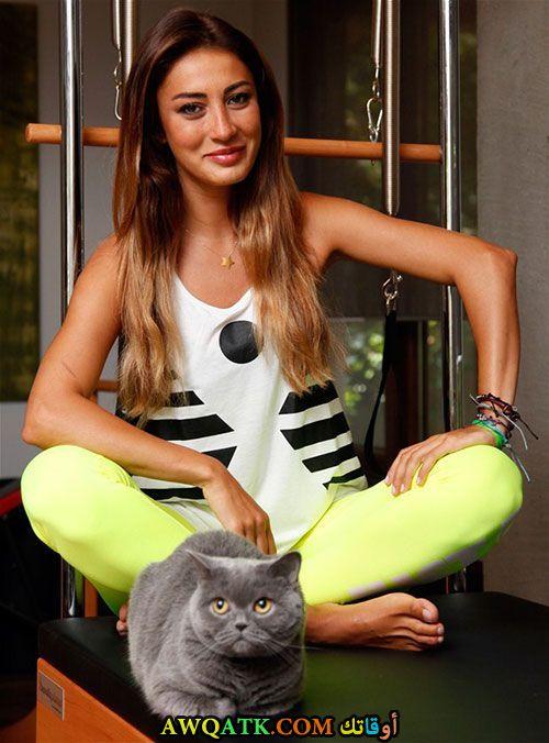 ميرفي اوفلاز وقطتها