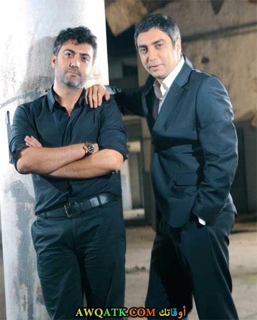 نجاتي شاشماز وشقيقه راجي شاشماز في لقطة قبل سنوات