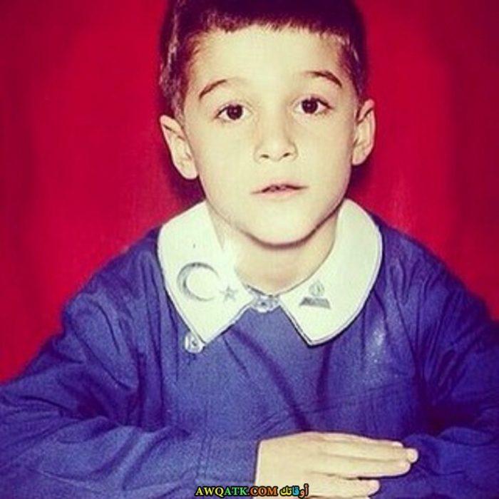 يوسف جيم وهو صغير