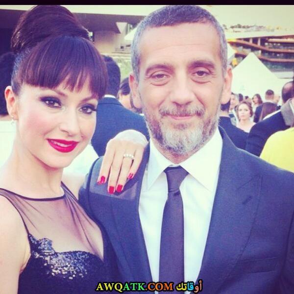 يونكا شاهينباش وزوجها