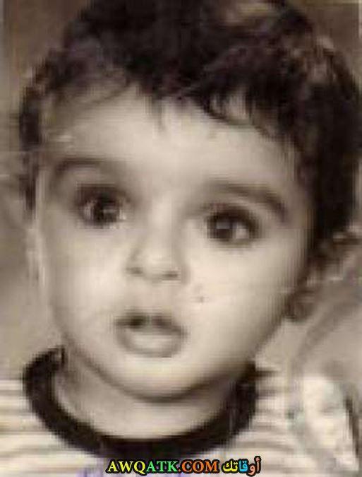 احمد عز وهو صغير