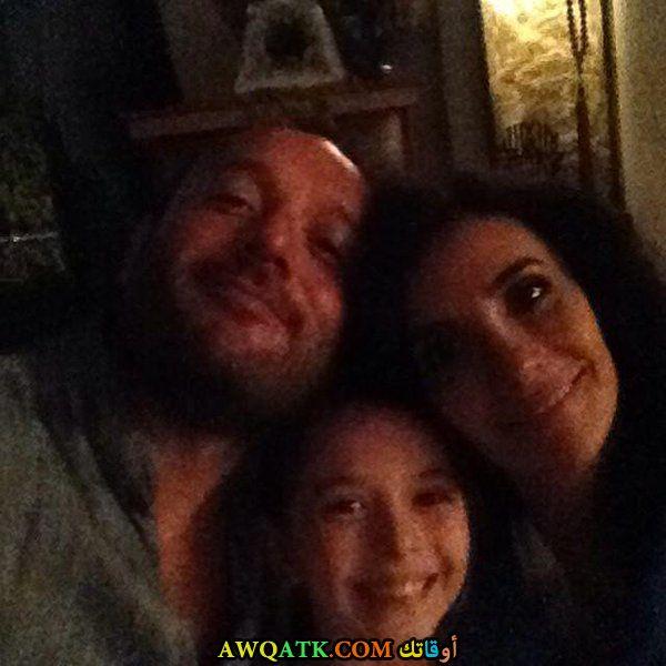تولجا تكين و زوجته و ابنته