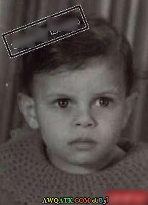 عمرو دياب وهو صغير