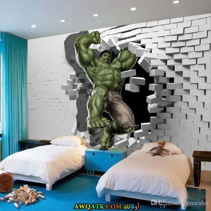 غرفة نوم ثري دي شيك جداً