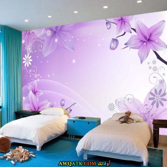 غرفة نوم ثري دي روعة وجميلة