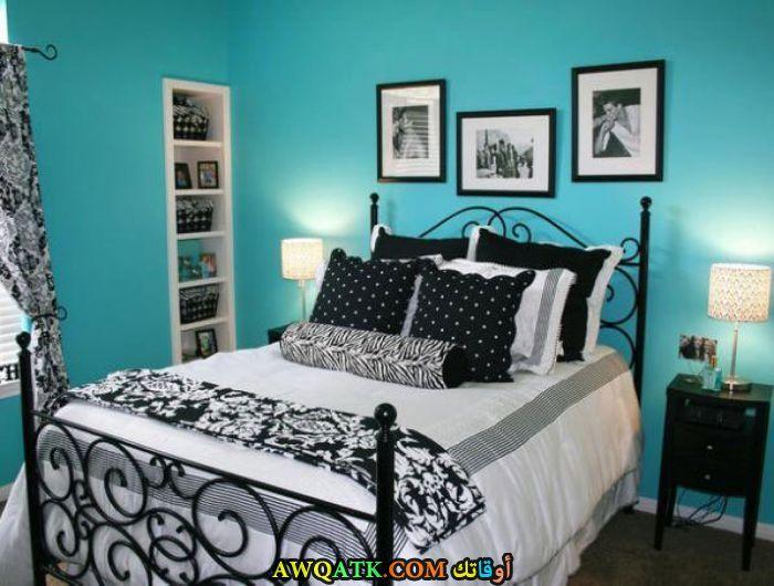 غرفة نوم أطفال حديد باللون اللبني