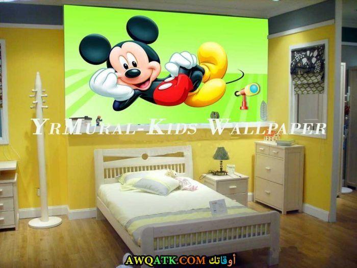 غرفة نوم صفراء رائعة وشيك