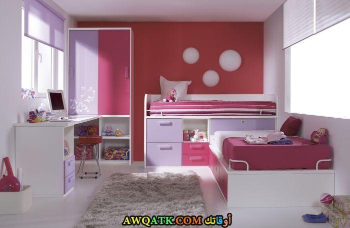غرفة نوم حمراء رائعة