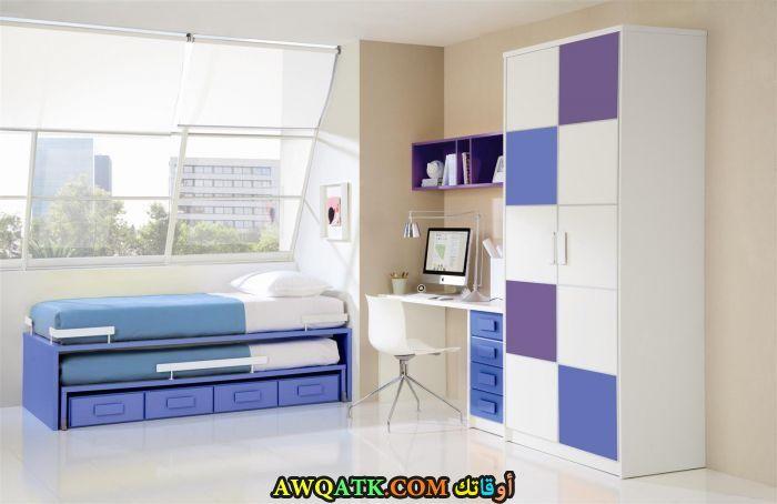 غرفة نوم أطفال بيضاء