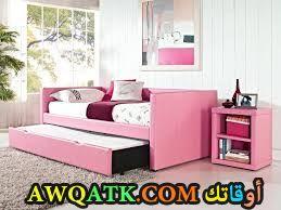 غرفة نوم باللون البينك جميلة جداً
