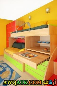 غرفة نوم أطفال رائعة وشيك