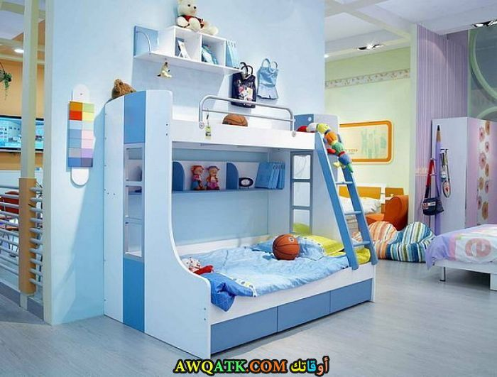 غرفة نوم لبني شيك وجميلة جداً