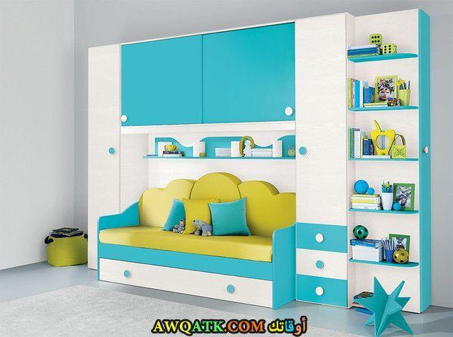غرفة نوم أطفال لبني 2017