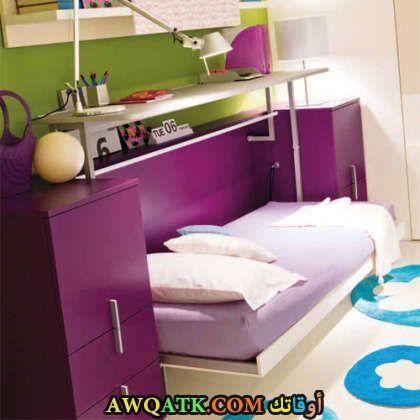 غرفة نوم باللون الموف 20179