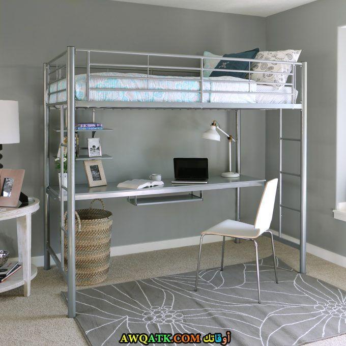 غرفة نوم رمادية روعة