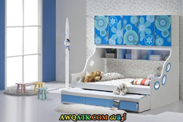 غرفة نوم باللون اللبني جميلة