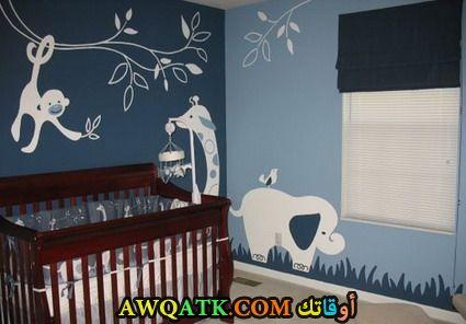 غرفة نوم حديثي الولادة جميلة وشيك