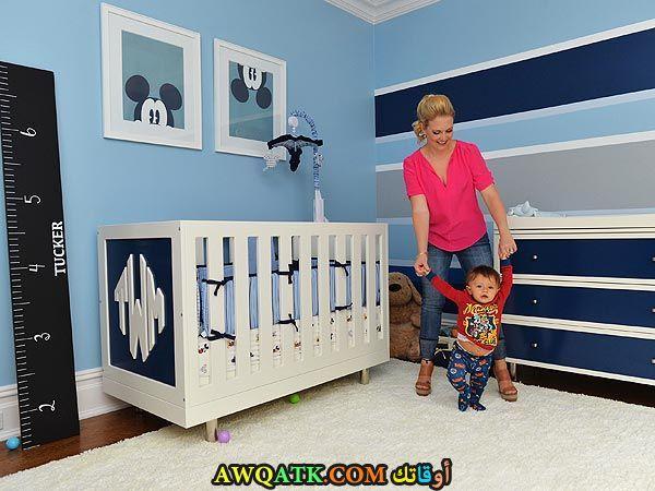 غرفة نوم حديثي الولادة روعة