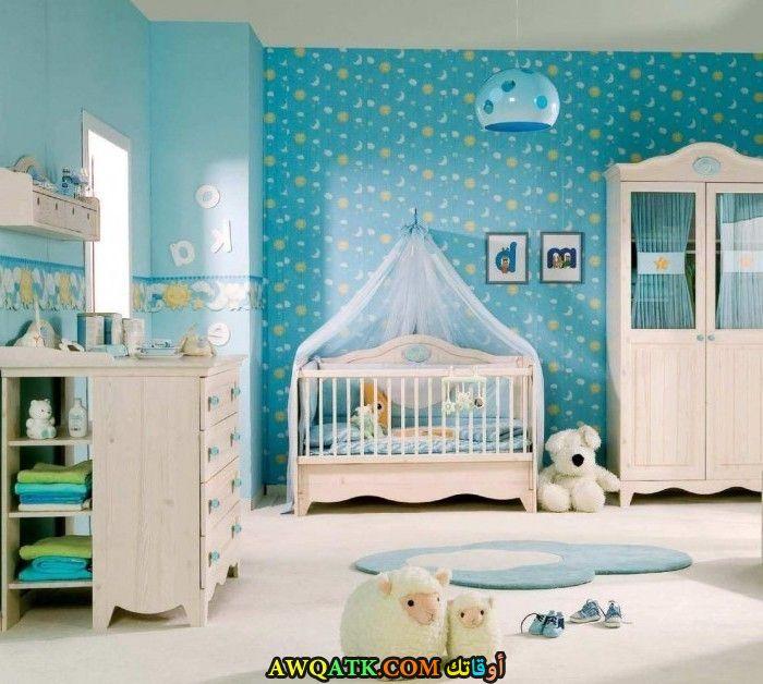 غرفة نوم شيك جداً لبني