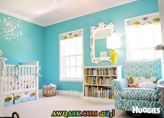 غرفة نوم حديثي الولادة جميلة جداً