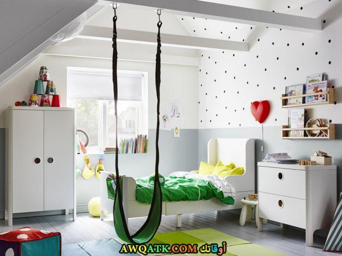 غرفة نوم أيكيا بيضاء