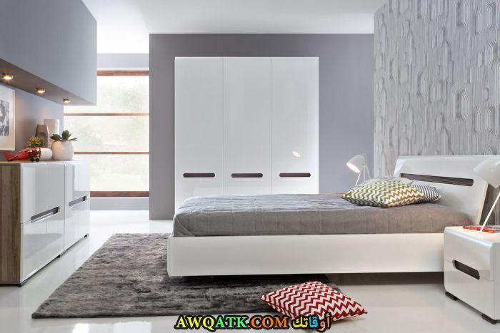 غرفة نوم أيكيا رمادية
