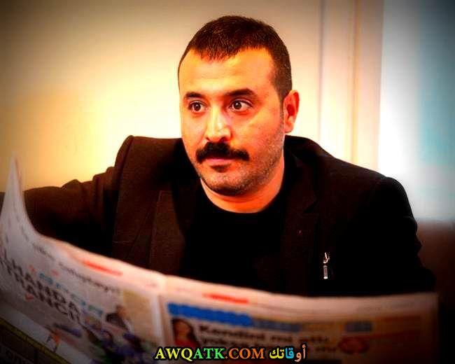 صورة جديدة للنجم التركي مصطفى أوستونداغ
