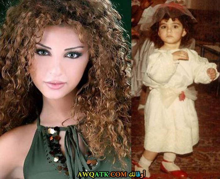 ميريام فارس وهي صغيرة