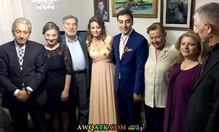 أحمد مكين من حفل زفاف ابنته