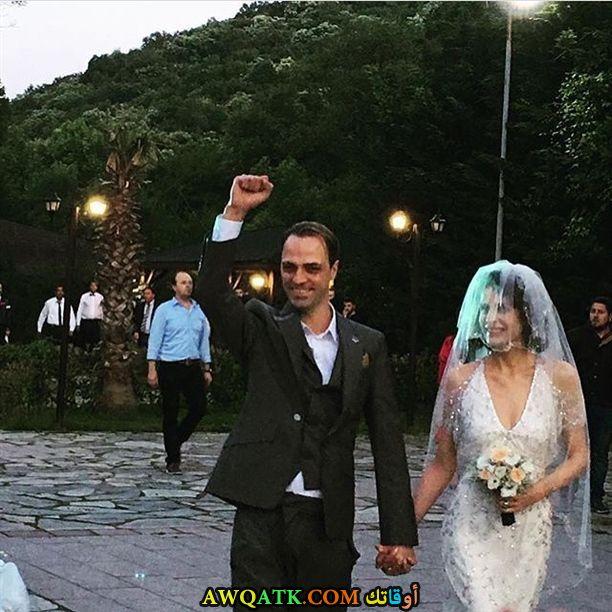صورة من حفل زفاف إبرو أوزكان